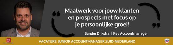 Junior Accountmanager Zuid-Nederland - beeld artikel