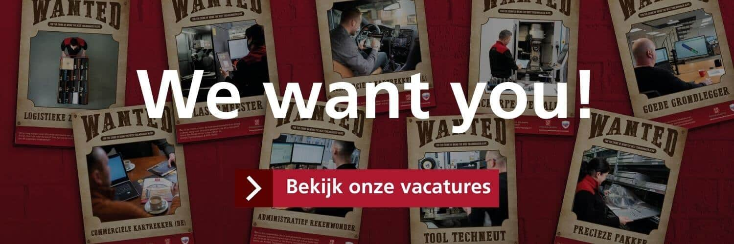 We want you! - KMWE Toolmanagers & KGS Tools