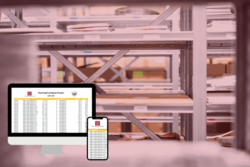 Voorraad verkoop - KMWE Toolmanagers & KGS Tools